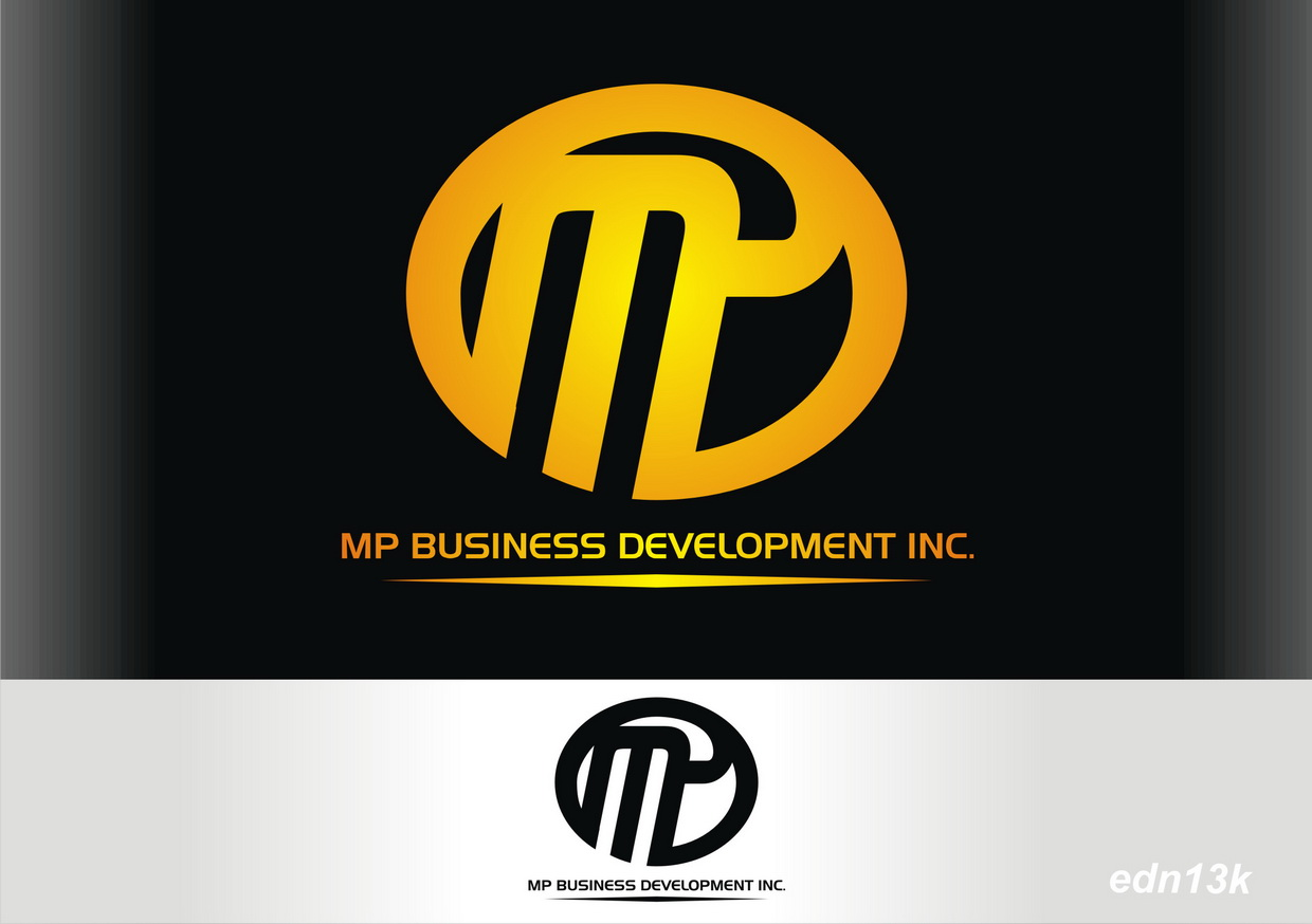 Logo Design by Ed Nik - Entry No. 242 in the Logo Design Contest MP Business Development Inc. Logo Design.