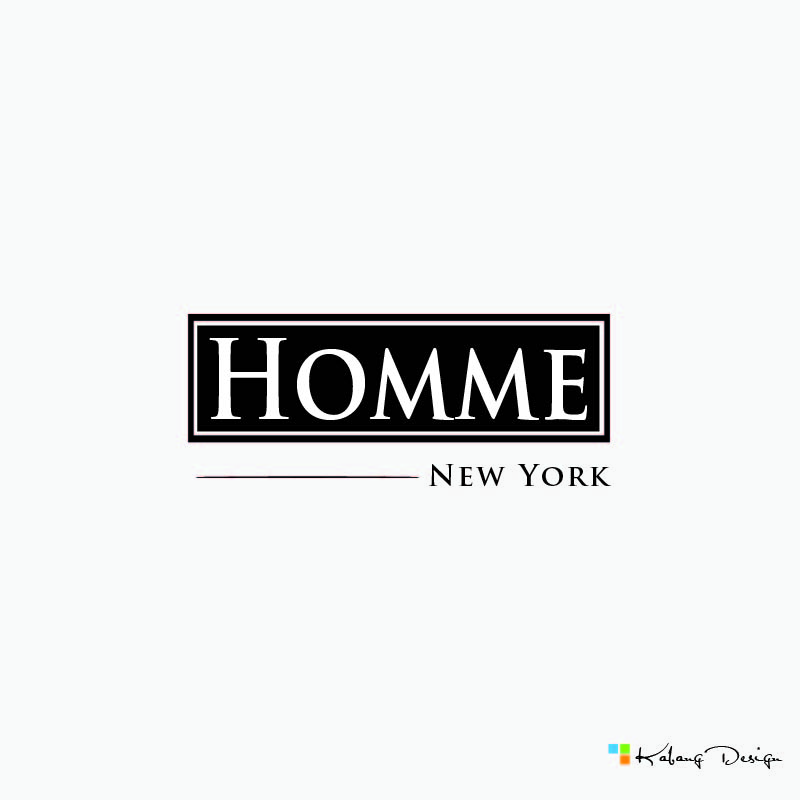 Logo Design by RHANCY ORPINADA - Entry No. 69 in the Logo Design Contest Artistic Logo Design for HOMME | NEW YORK.