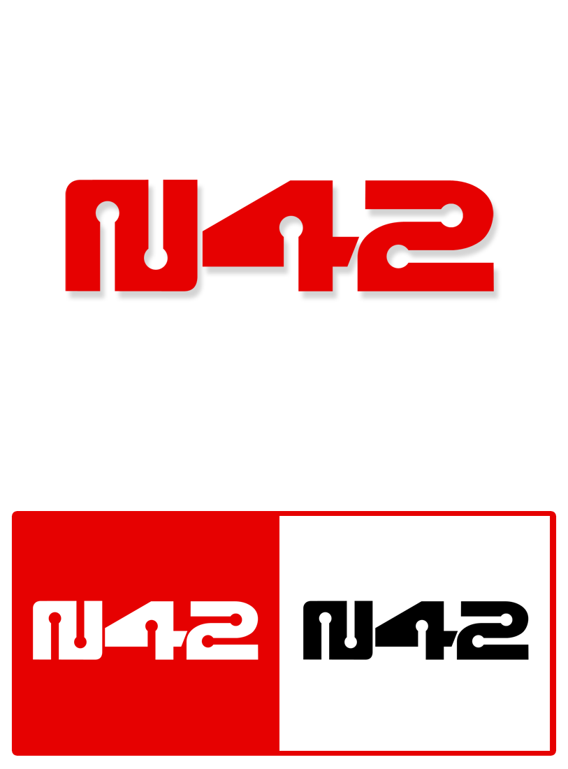 Logo Design by Robert Turla - Entry No. 114 in the Logo Design Contest Artistic Logo Design for Number 42.
