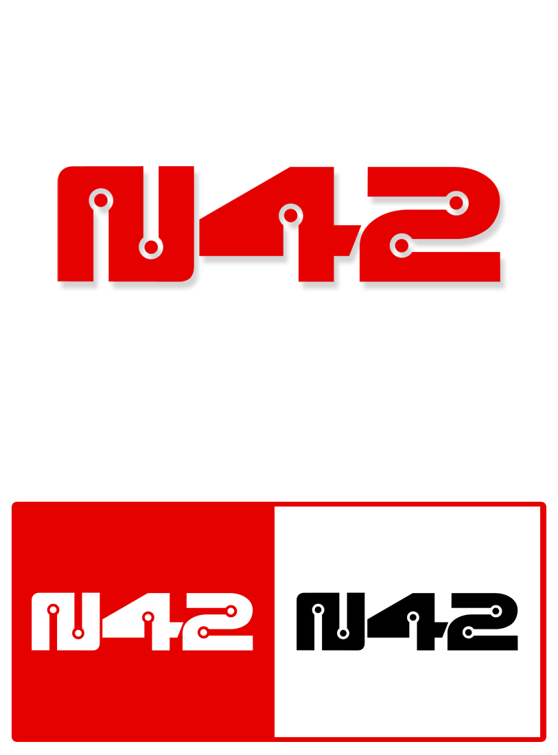 Logo Design by Private User - Entry No. 115 in the Logo Design Contest Artistic Logo Design for Number 42.