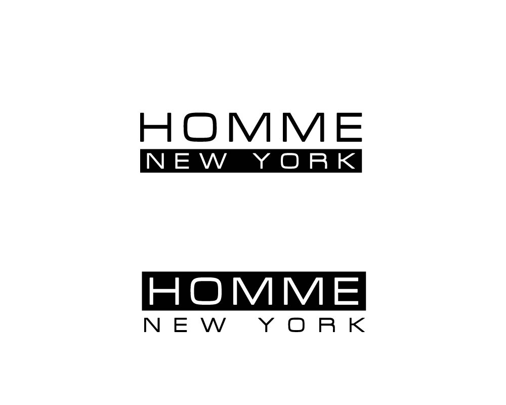Logo Design by roc - Entry No. 71 in the Logo Design Contest Artistic Logo Design for HOMME | NEW YORK.