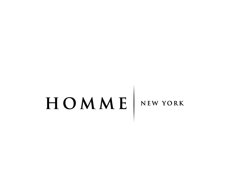Logo Design by roc - Entry No. 72 in the Logo Design Contest Artistic Logo Design for HOMME | NEW YORK.