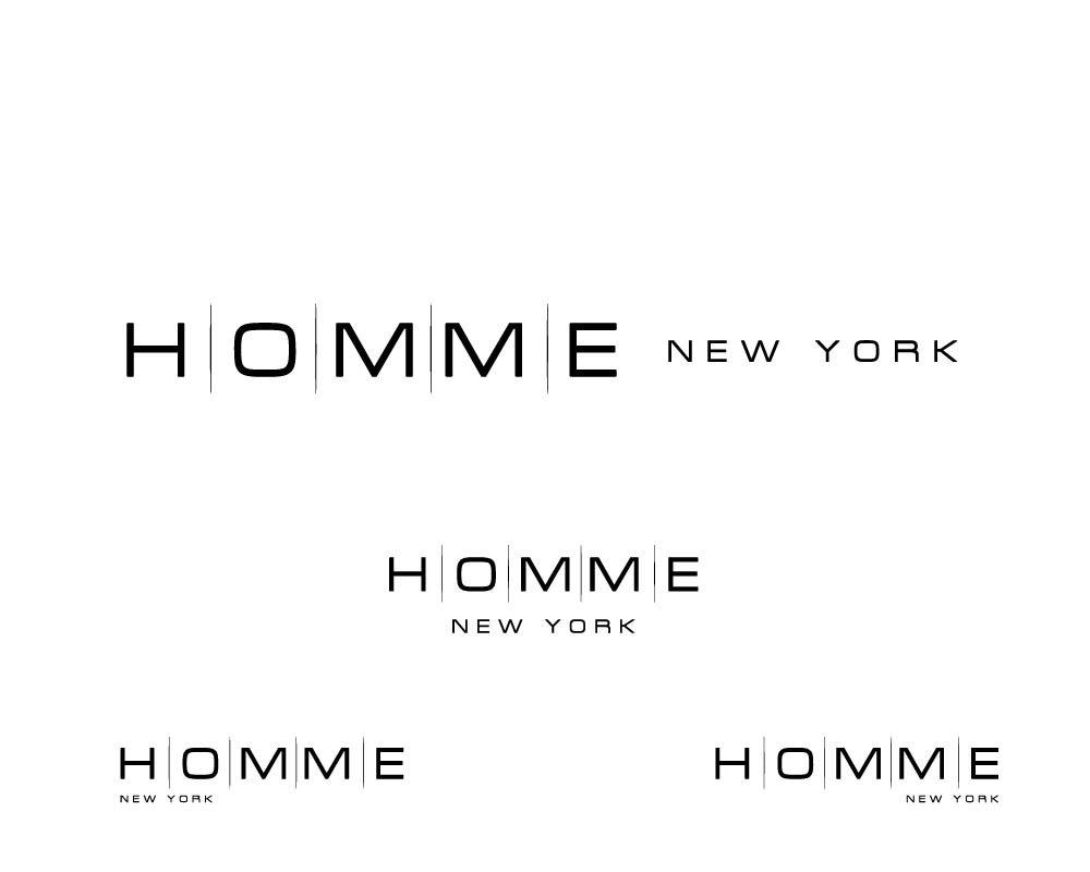 Logo Design by roc - Entry No. 73 in the Logo Design Contest Artistic Logo Design for HOMME | NEW YORK.