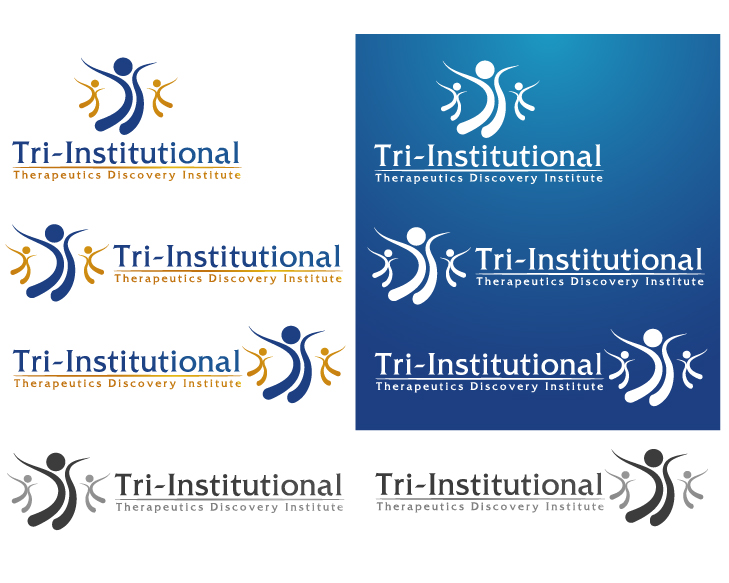 Logo Design by VENTSISLAV KOVACHEV - Entry No. 30 in the Logo Design Contest Inspiring Logo Design for Tri-Institutional Therapeutics Discovery Institute.