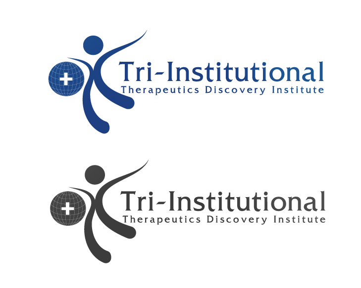 Logo Design by VENTSISLAV KOVACHEV - Entry No. 32 in the Logo Design Contest Inspiring Logo Design for Tri-Institutional Therapeutics Discovery Institute.