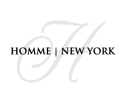 Logo Design by Crystal Desizns - Entry No. 75 in the Logo Design Contest Artistic Logo Design for HOMME | NEW YORK.