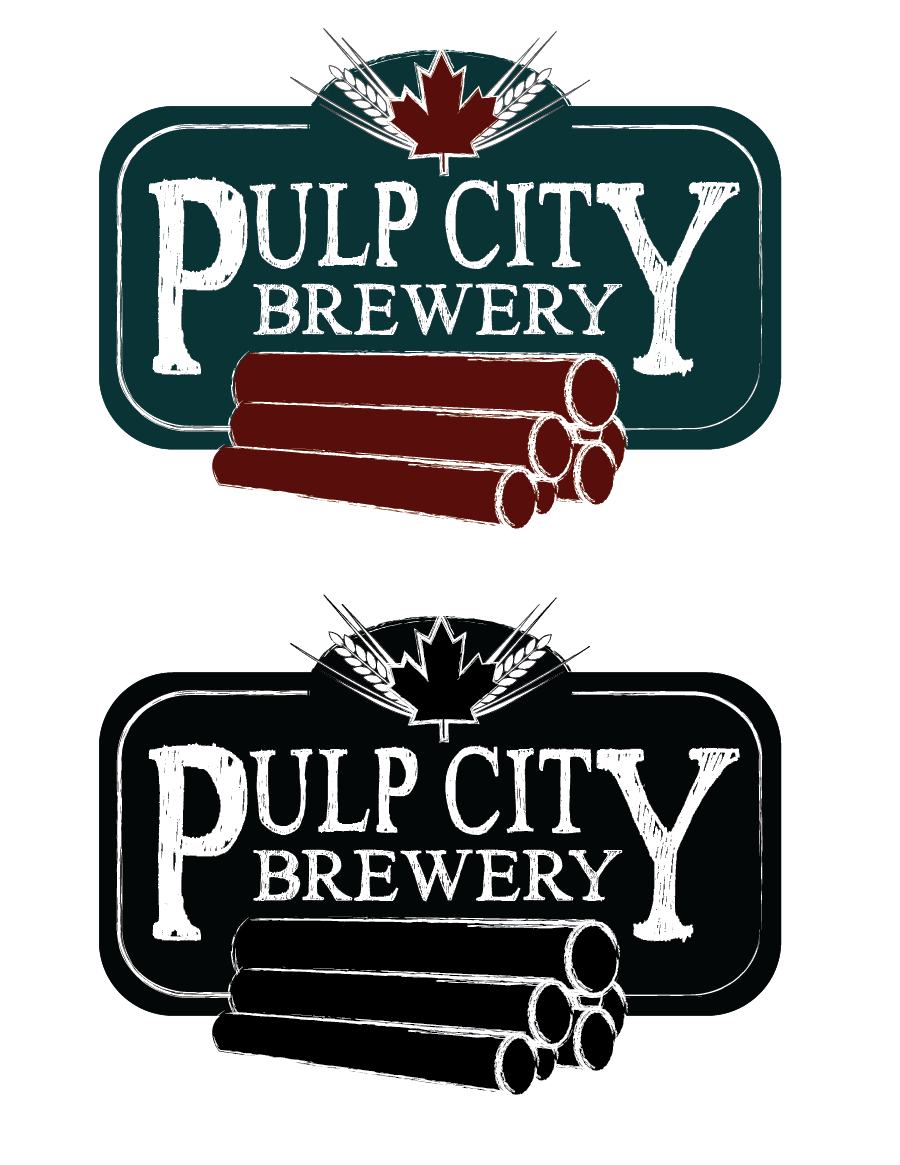 Logo Design by Christina Evans - Entry No. 8 in the Logo Design Contest Artistic Logo Design for Pulp City Brewery.
