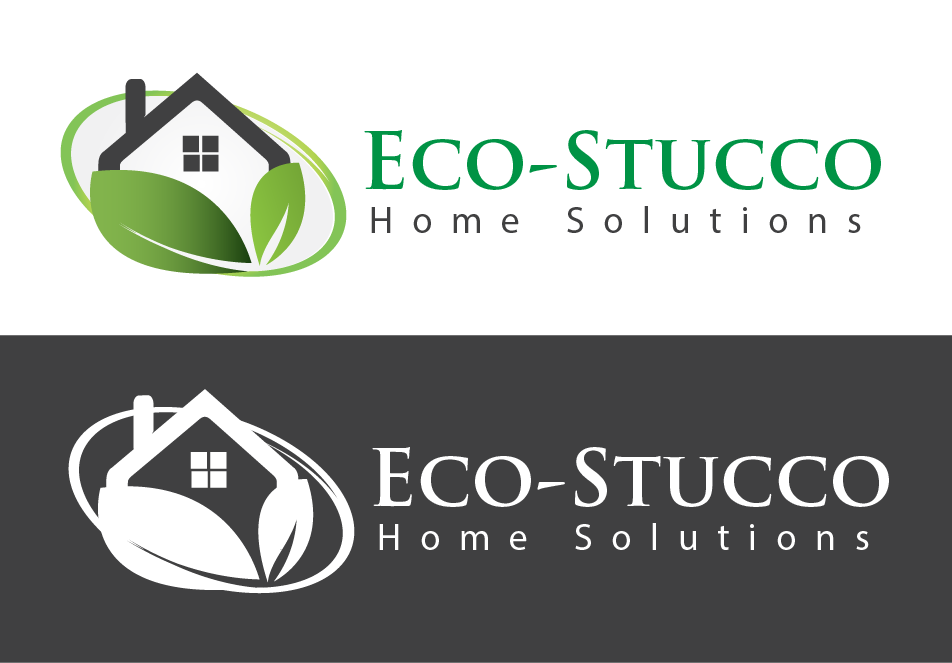 Logo Design by Omole Oluseyi - Entry No. 27 in the Logo Design Contest Unique Logo Design Wanted for Eco-Stucco Home Solutions.