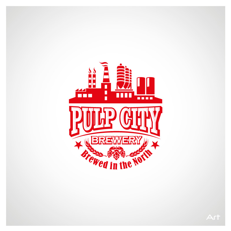 Logo Design by Puspita Wahyuni - Entry No. 10 in the Logo Design Contest Artistic Logo Design for Pulp City Brewery.