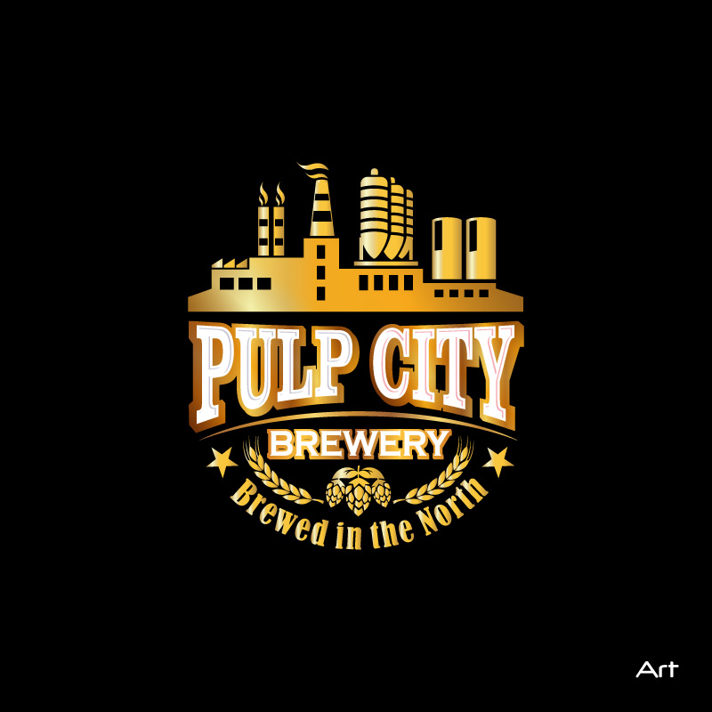 Logo Design by Puspita Wahyuni - Entry No. 11 in the Logo Design Contest Artistic Logo Design for Pulp City Brewery.