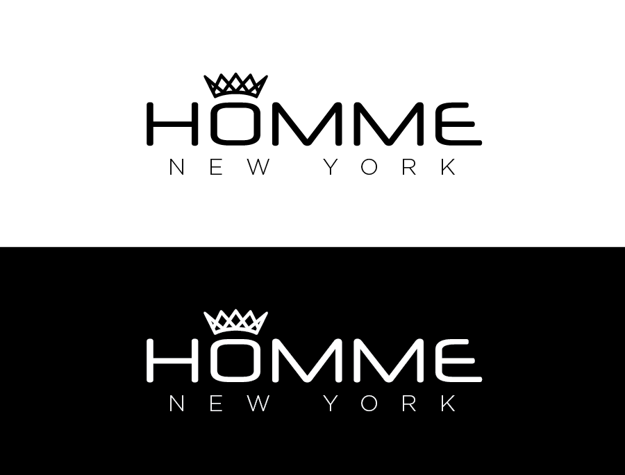 Logo Design by Christina Evans - Entry No. 80 in the Logo Design Contest Artistic Logo Design for HOMME | NEW YORK.