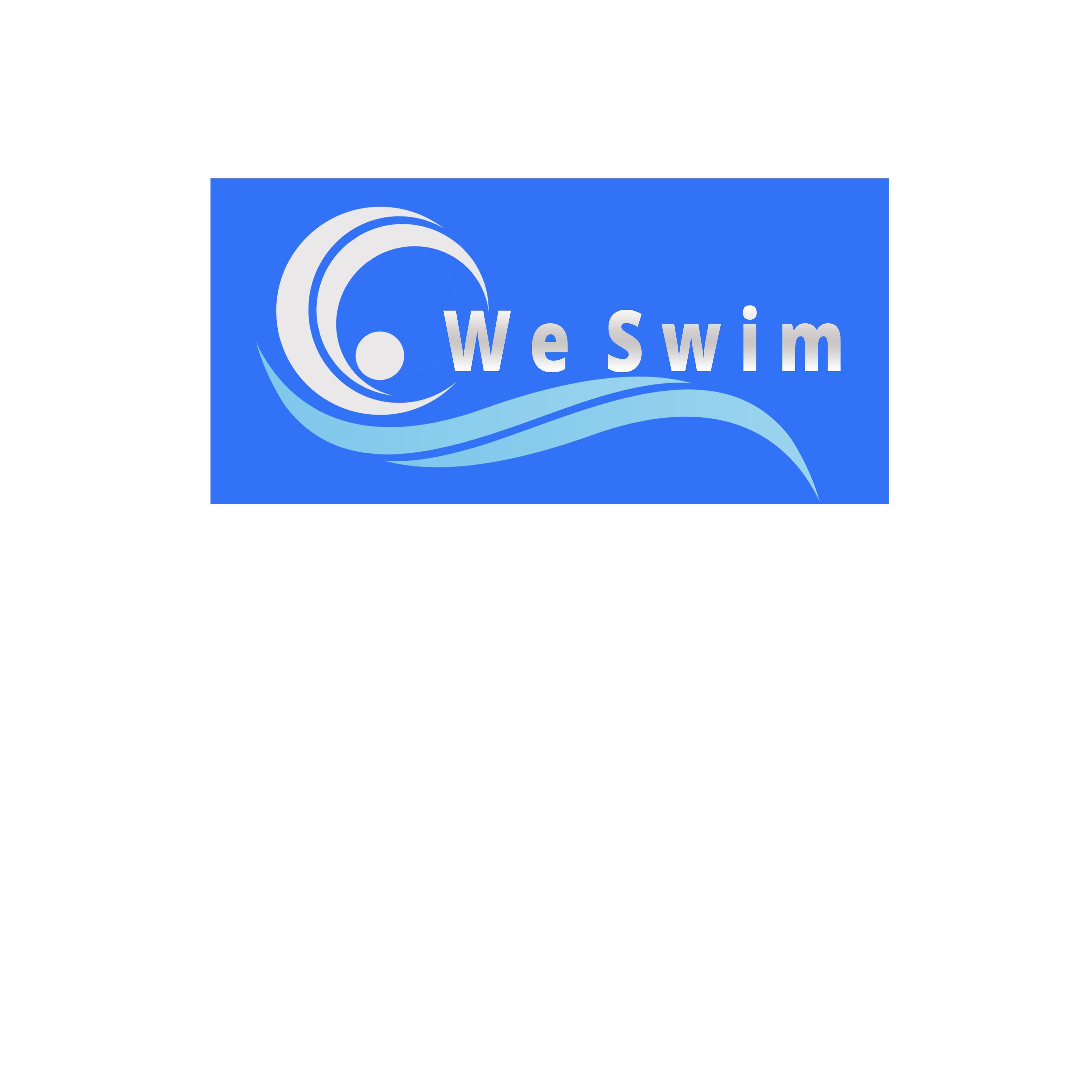 Logo Design by Allan Esclamado - Entry No. 1 in the Logo Design Contest Captivating Logo Design for We Swim.