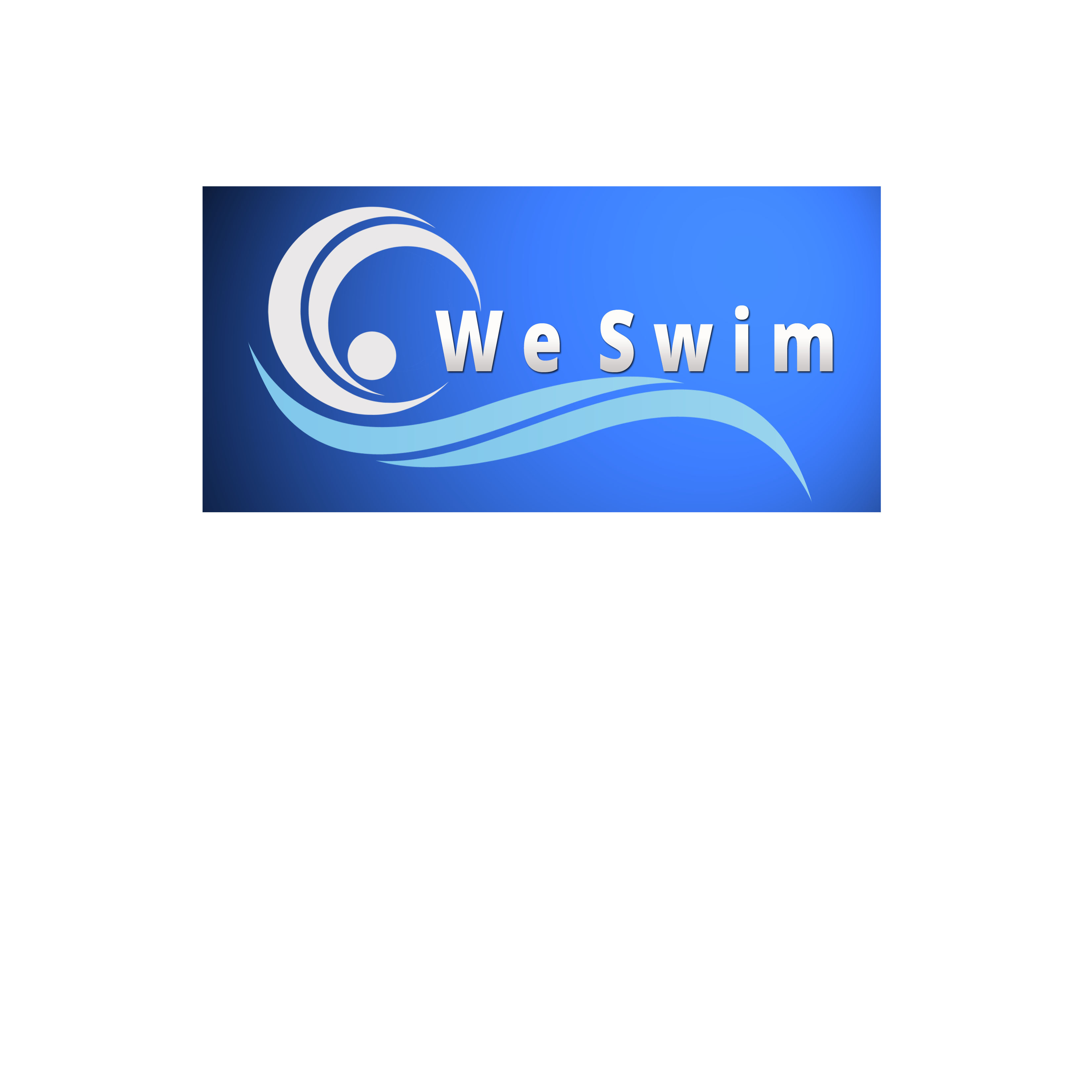 Logo Design by Allan Esclamado - Entry No. 2 in the Logo Design Contest Captivating Logo Design for We Swim.