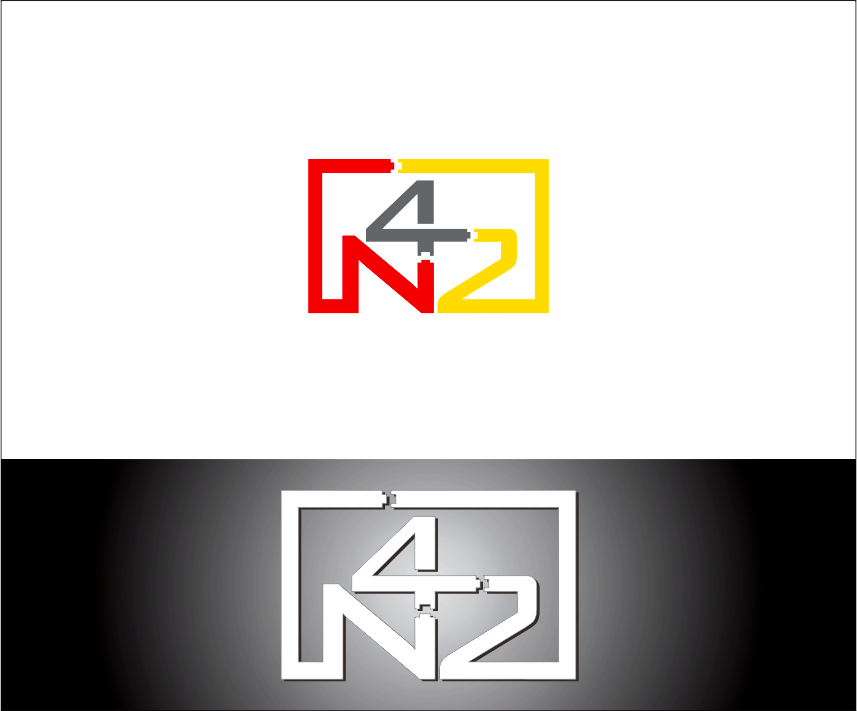 Logo Design by Armada Jamaluddin - Entry No. 137 in the Logo Design Contest Artistic Logo Design for Number 42.