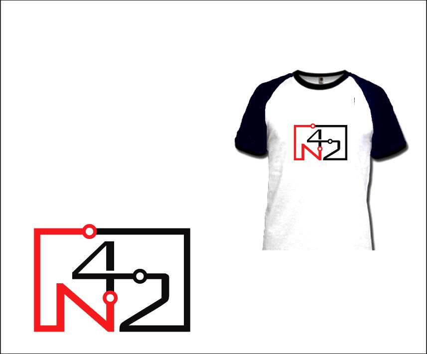 Logo Design by Armada Jamaluddin - Entry No. 140 in the Logo Design Contest Artistic Logo Design for Number 42.