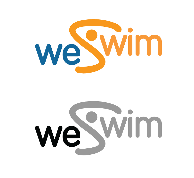 Logo Design by Christina Evans - Entry No. 3 in the Logo Design Contest Captivating Logo Design for We Swim.