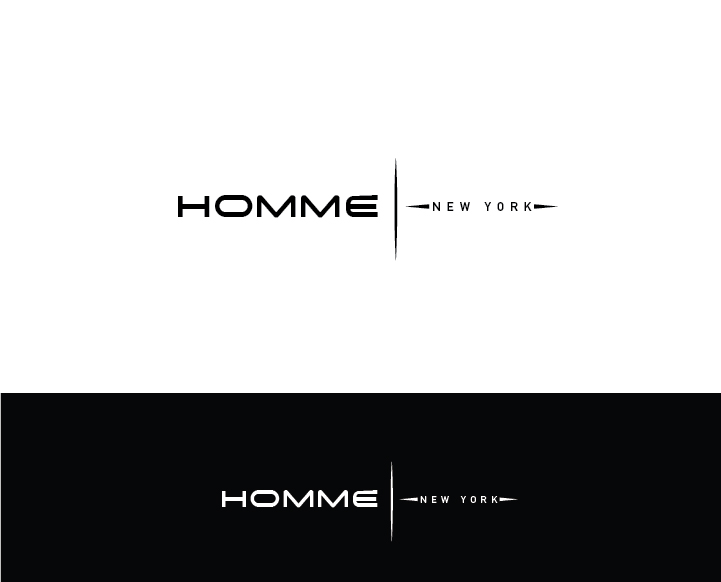 Logo Design by Murtaza Fayyaz - Entry No. 84 in the Logo Design Contest Artistic Logo Design for HOMME | NEW YORK.