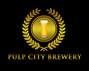 Logo Design by Crystal Desizns - Entry No. 17 in the Logo Design Contest Artistic Logo Design for Pulp City Brewery.