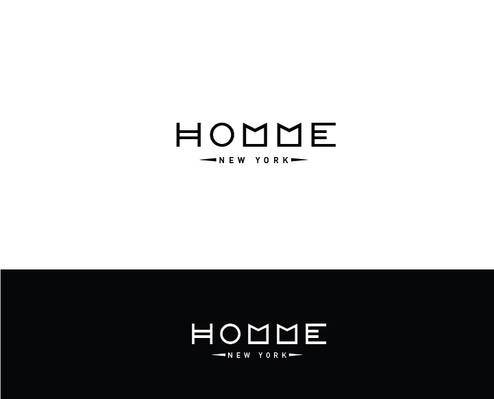 Logo Design by Murtaza Fayyaz - Entry No. 85 in the Logo Design Contest Artistic Logo Design for HOMME | NEW YORK.