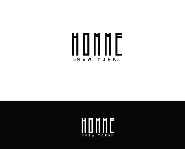 Logo Design by Murtaza Fayyaz - Entry No. 86 in the Logo Design Contest Artistic Logo Design for HOMME | NEW YORK.