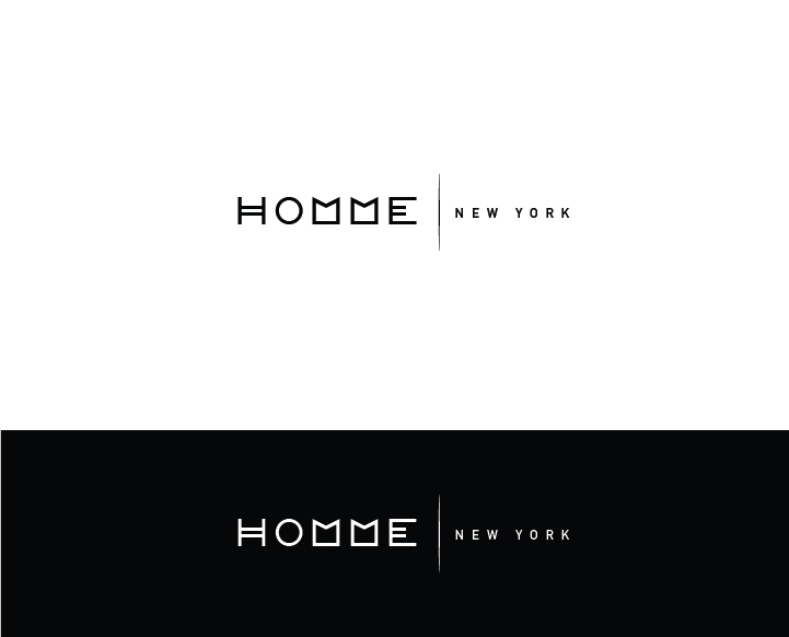 Logo Design by Murtaza Fayyaz - Entry No. 88 in the Logo Design Contest Artistic Logo Design for HOMME | NEW YORK.