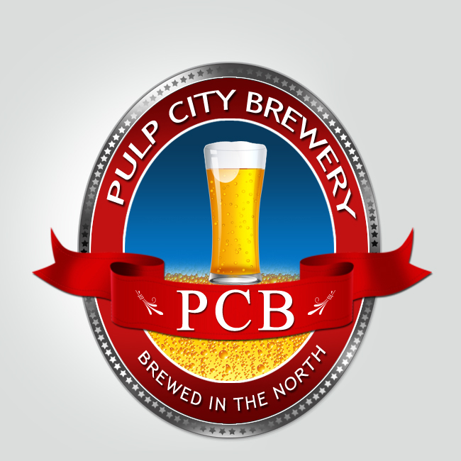 Logo Design by Crystal Desizns - Entry No. 18 in the Logo Design Contest Artistic Logo Design for Pulp City Brewery.