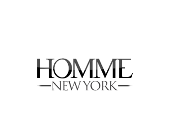 Logo Design by Crystal Desizns - Entry No. 90 in the Logo Design Contest Artistic Logo Design for HOMME | NEW YORK.