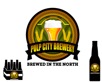 Logo Design by ibbie_ammiel2508 - Entry No. 21 in the Logo Design Contest Artistic Logo Design for Pulp City Brewery.