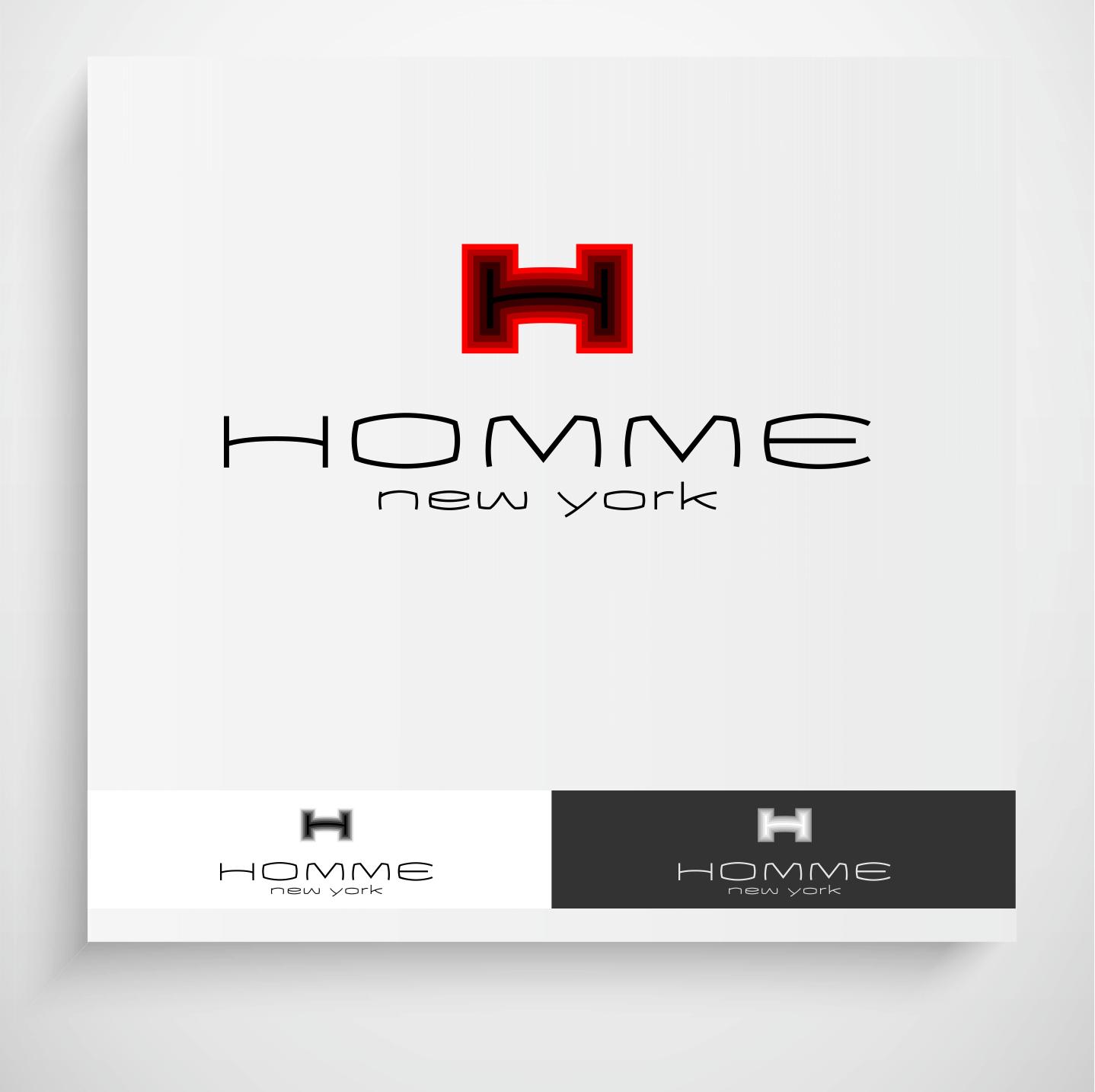 Logo Design by Krzysztof Mokanek - Entry No. 93 in the Logo Design Contest Artistic Logo Design for HOMME | NEW YORK.