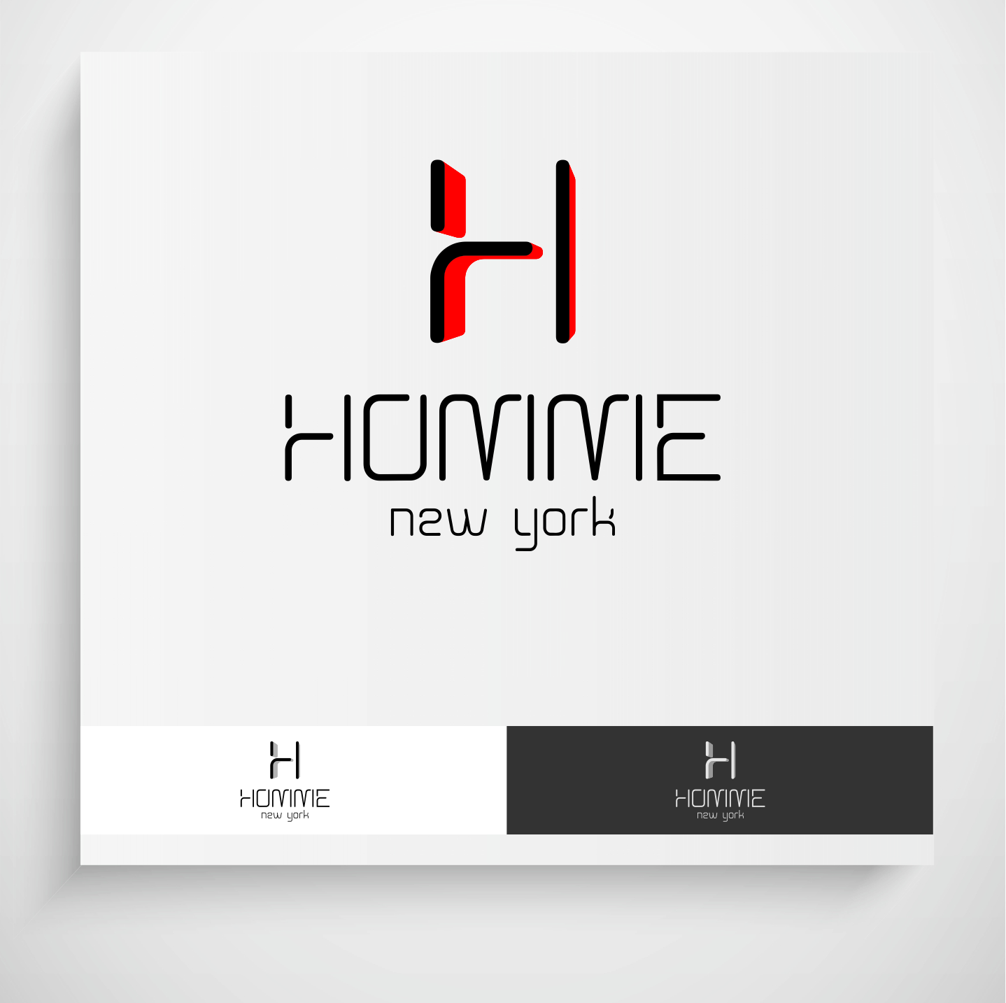 Logo Design by Krzysztof Mokanek - Entry No. 94 in the Logo Design Contest Artistic Logo Design for HOMME | NEW YORK.