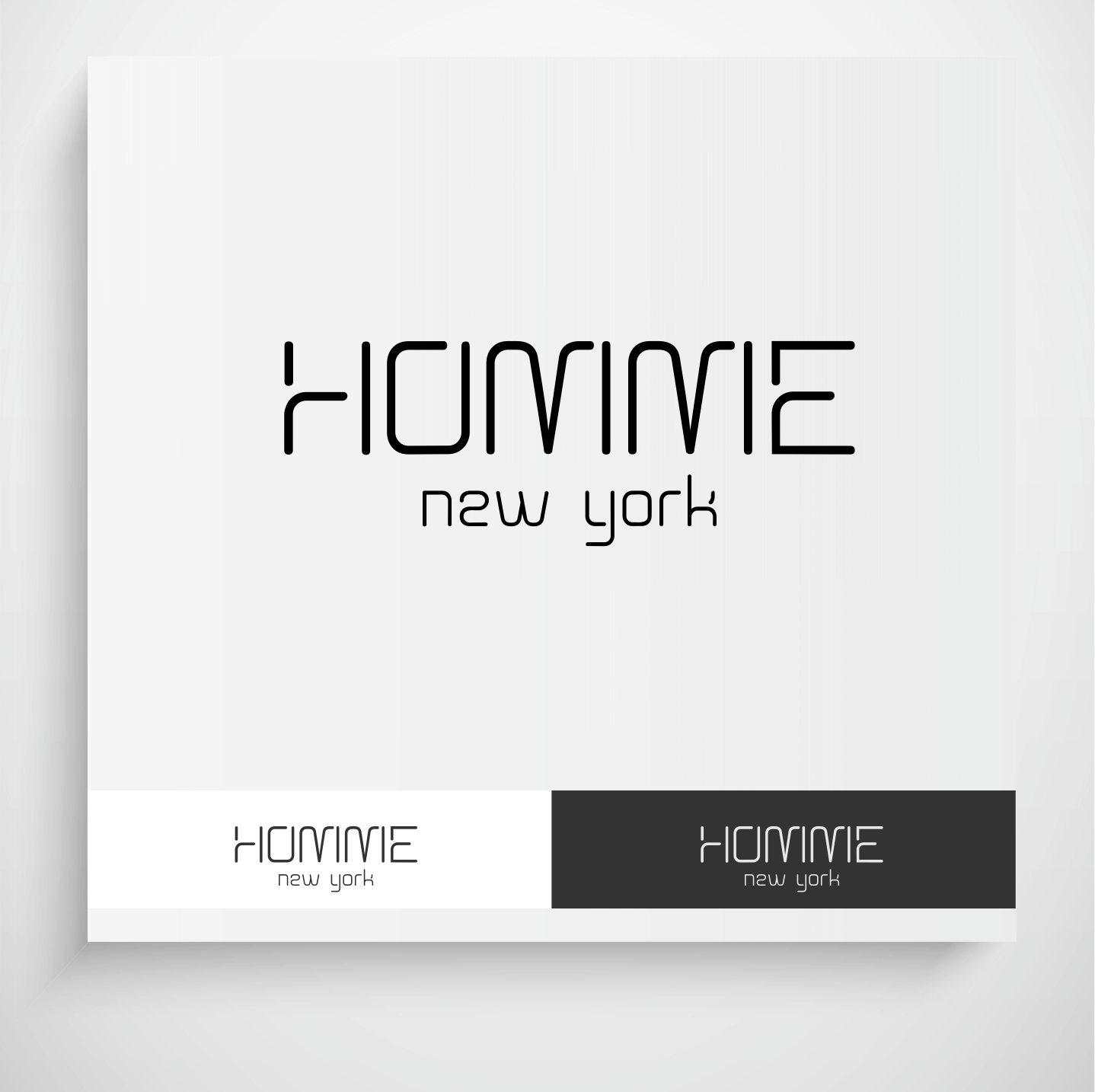 Logo Design by Krzysztof Mokanek - Entry No. 95 in the Logo Design Contest Artistic Logo Design for HOMME | NEW YORK.