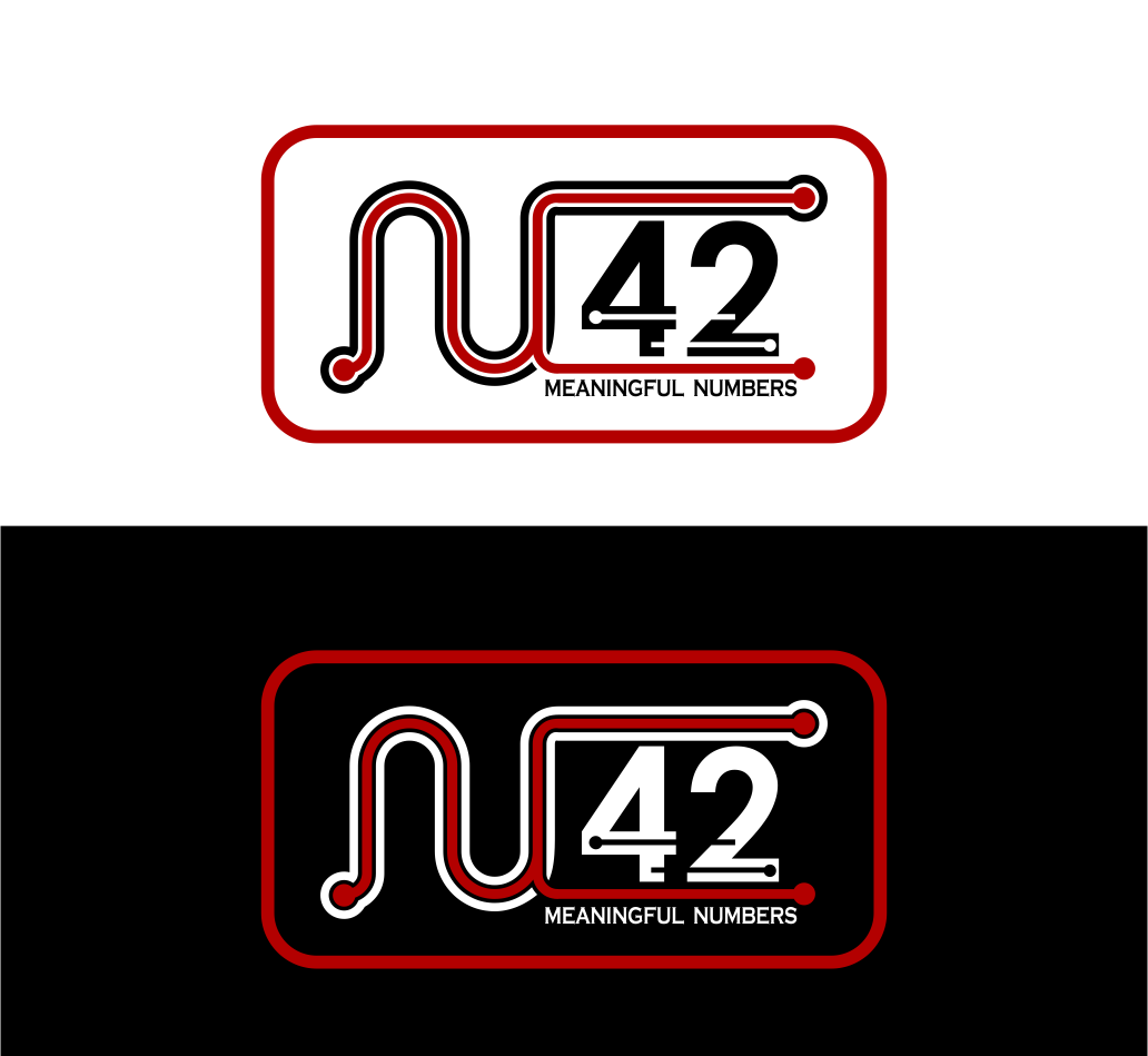 Logo Design by Agus Martoyo - Entry No. 151 in the Logo Design Contest Artistic Logo Design for Number 42.