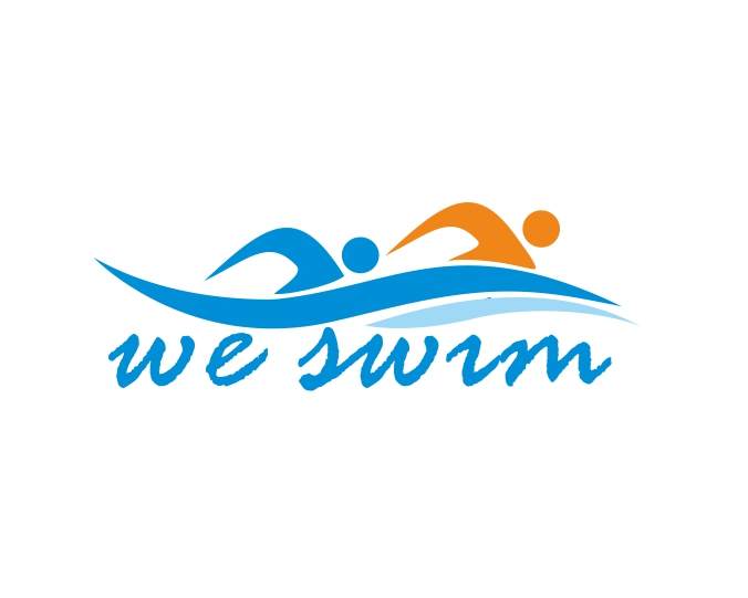 Logo Design by ronny - Entry No. 8 in the Logo Design Contest Captivating Logo Design for We Swim.