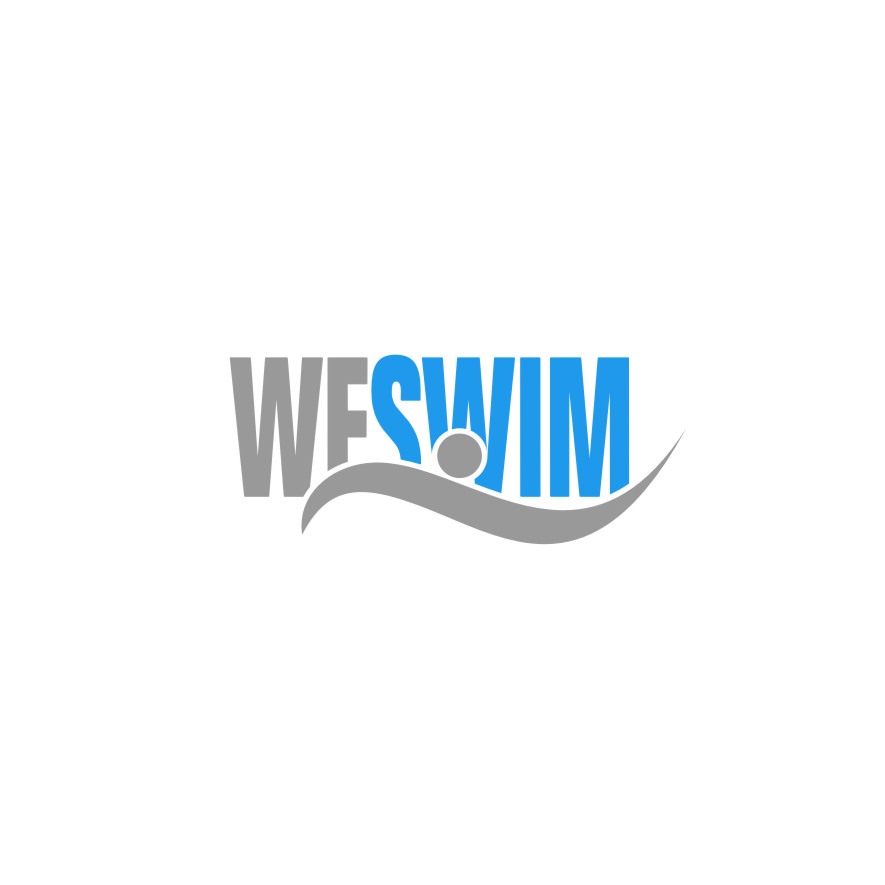 Logo Design by RasYa Muhammad Athaya - Entry No. 9 in the Logo Design Contest Captivating Logo Design for We Swim.
