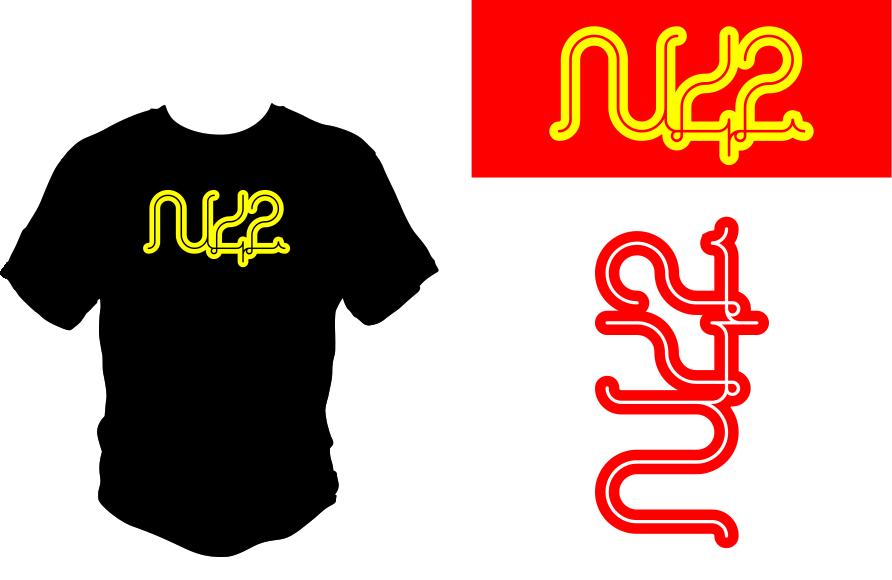 Logo Design by Agus Martoyo - Entry No. 153 in the Logo Design Contest Artistic Logo Design for Number 42.
