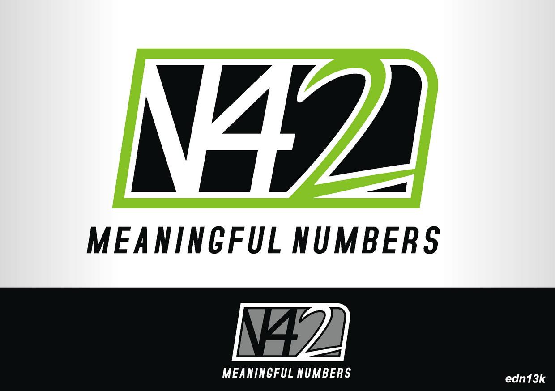 Logo Design by Ed Nik - Entry No. 155 in the Logo Design Contest Artistic Logo Design for Number 42.