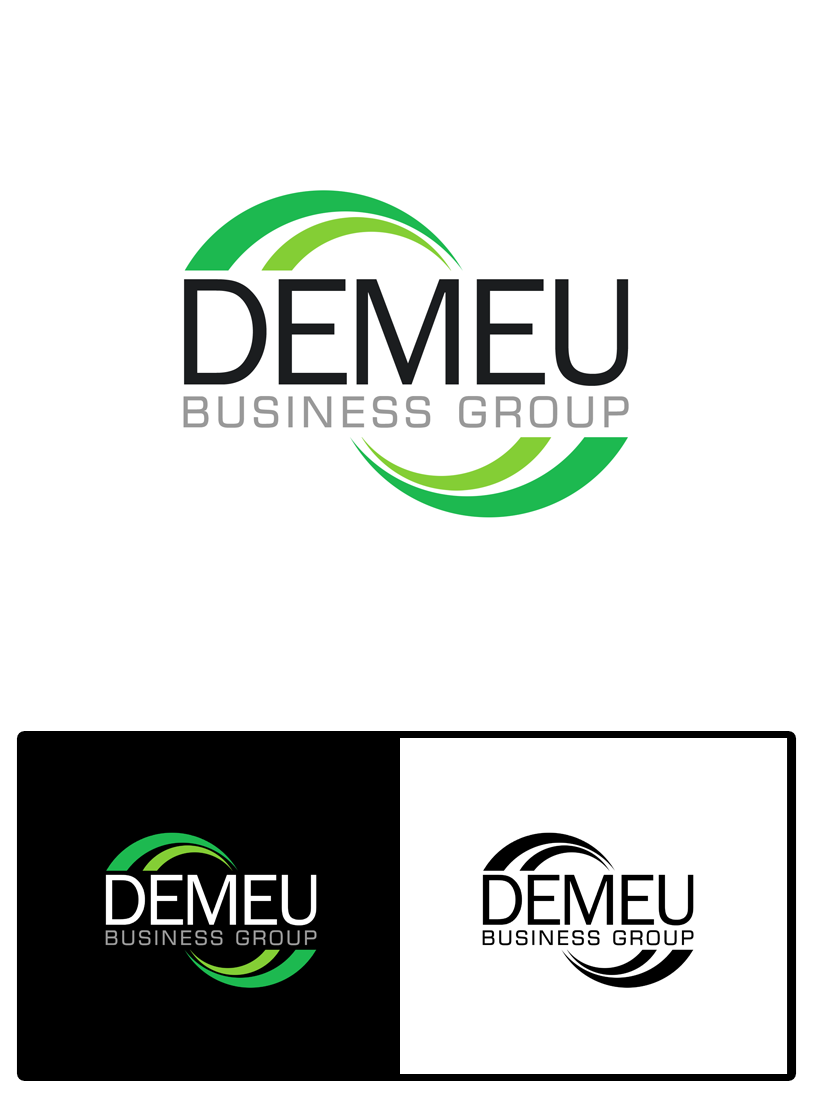 Logo Design by Robert Turla - Entry No. 50 in the Logo Design Contest Captivating Logo Design for DEMEU Business Group.