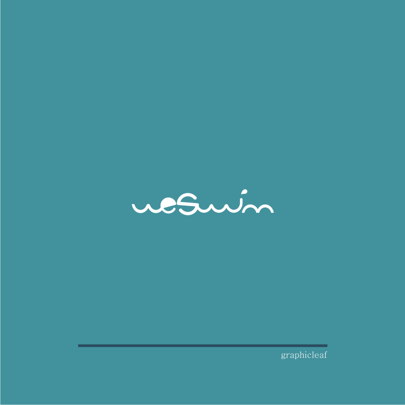 Logo Design by graphicleaf - Entry No. 11 in the Logo Design Contest Captivating Logo Design for We Swim.