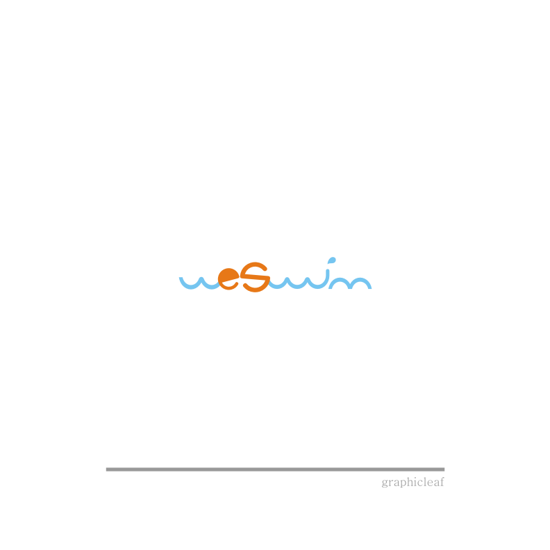 Logo Design by graphicleaf - Entry No. 12 in the Logo Design Contest Captivating Logo Design for We Swim.