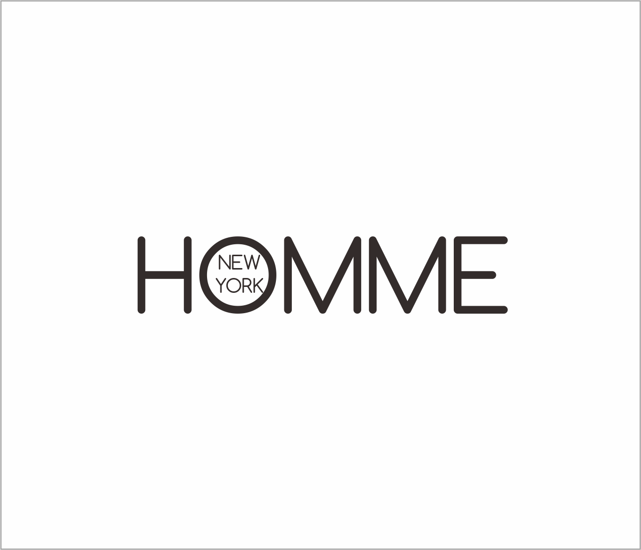 Logo Design by Armada Jamaluddin - Entry No. 98 in the Logo Design Contest Artistic Logo Design for HOMME | NEW YORK.