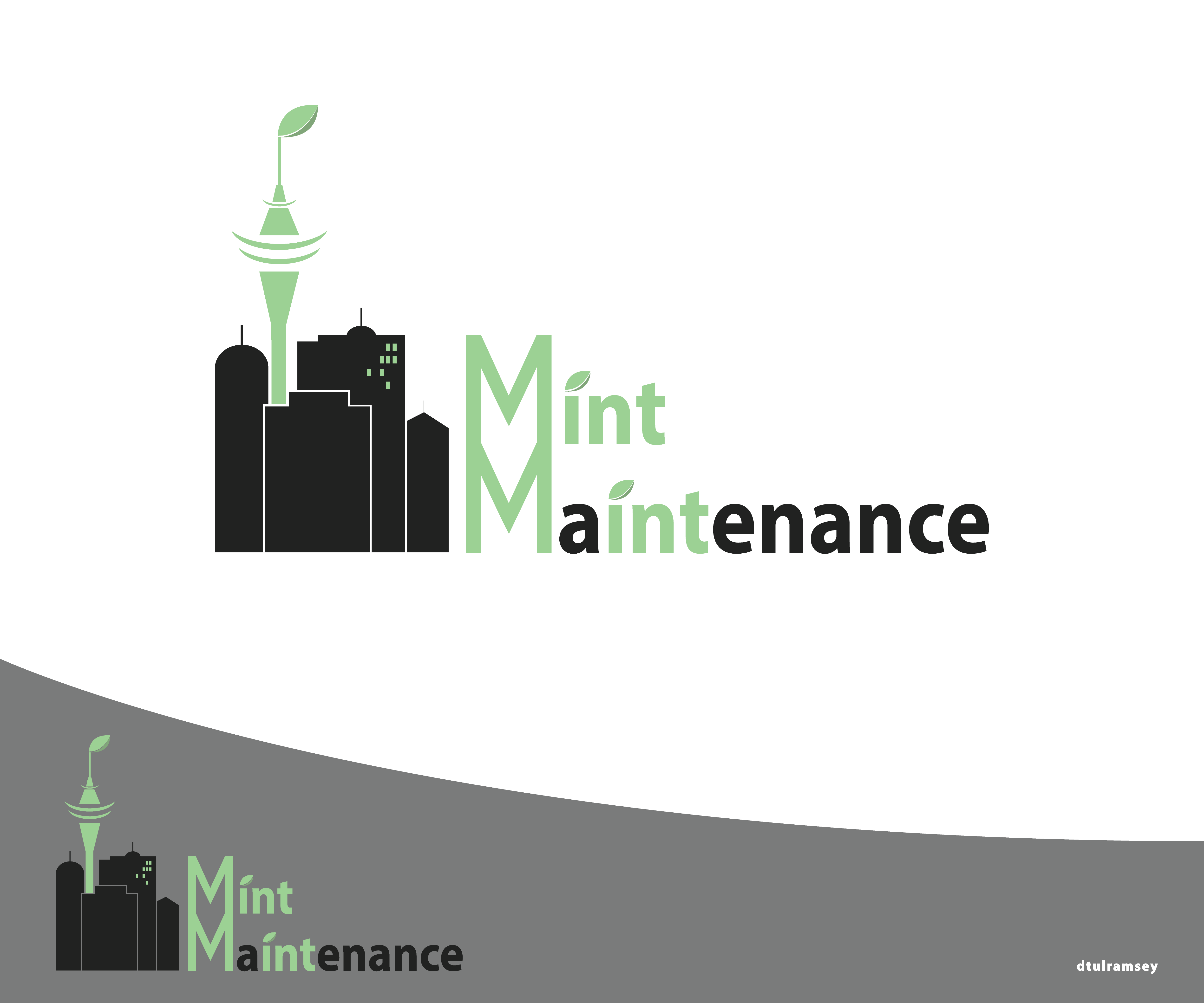 Logo Design by dtulramsey - Entry No. 146 in the Logo Design Contest Creative Logo Design for Mint Maintenance.