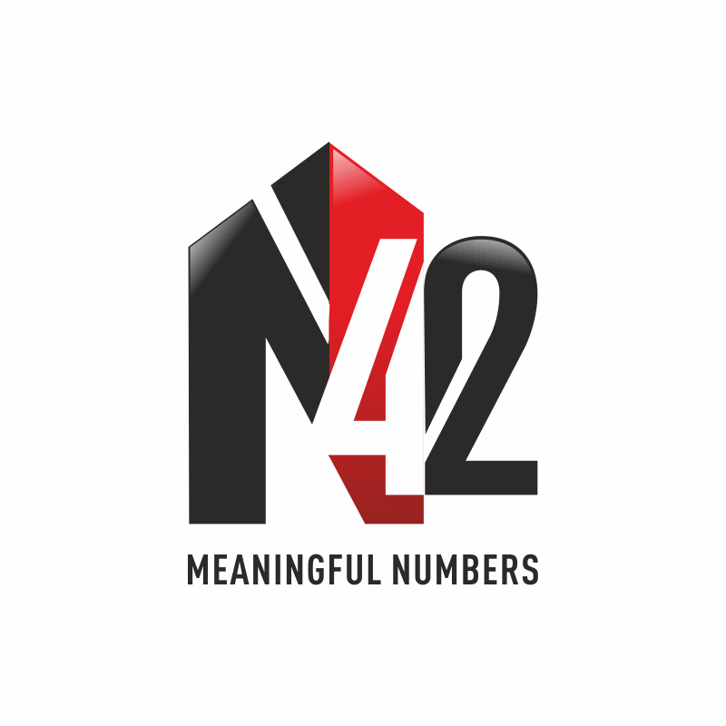 Logo Design by montoshlall - Entry No. 165 in the Logo Design Contest Artistic Logo Design for Number 42.