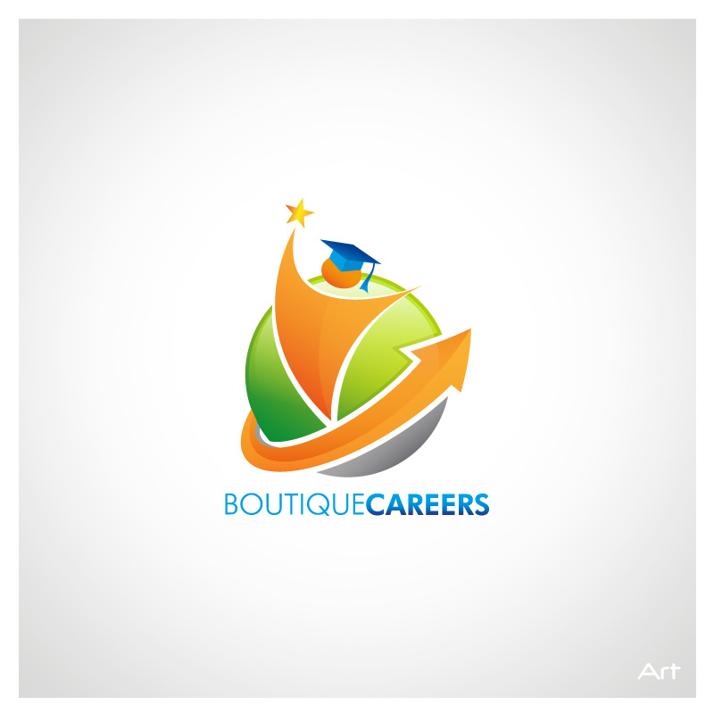 Logo Design by Puspita Wahyuni - Entry No. 3 in the Logo Design Contest Captivating Logo Design for Boutique Careers.