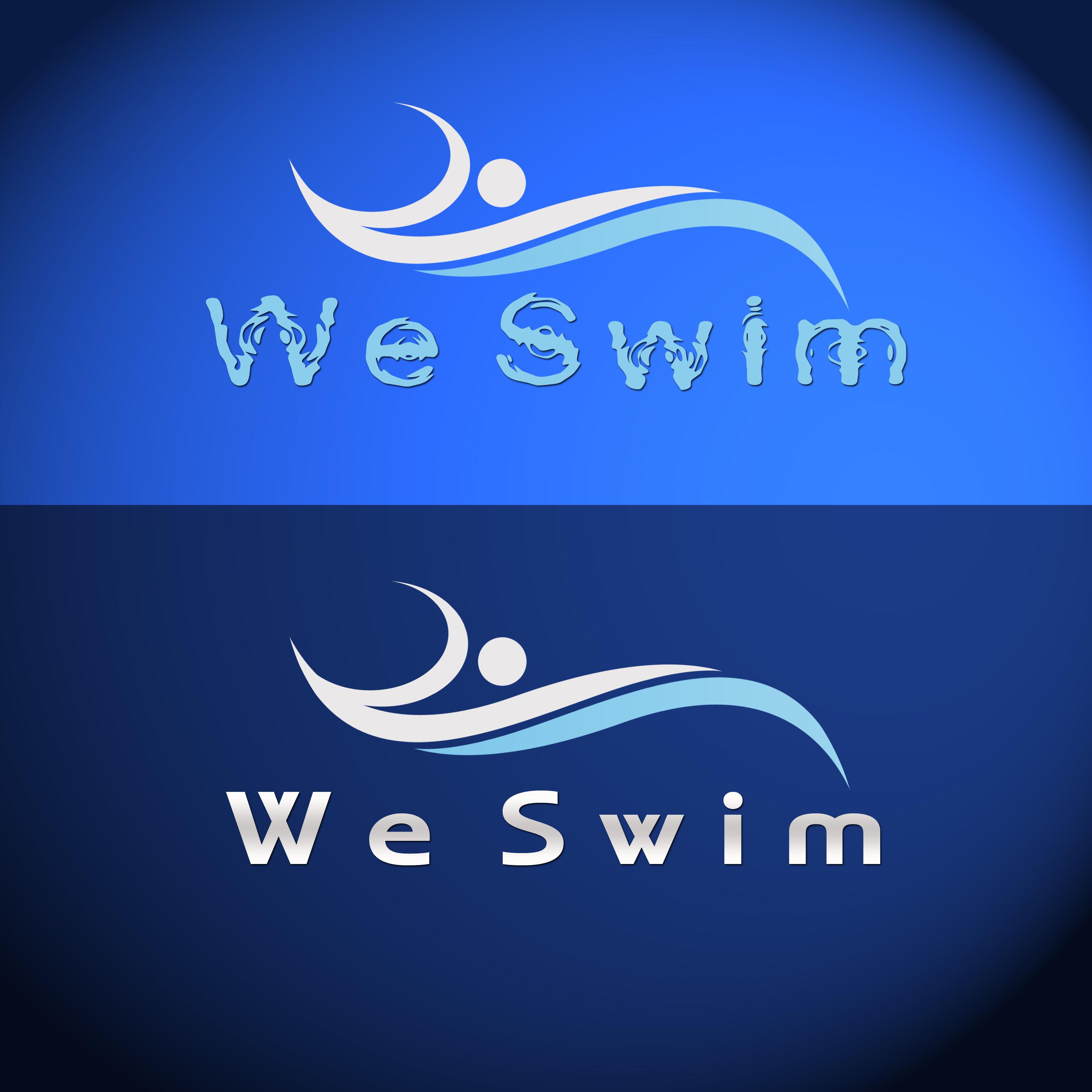 Logo Design by Allan Esclamado - Entry No. 17 in the Logo Design Contest Captivating Logo Design for We Swim.
