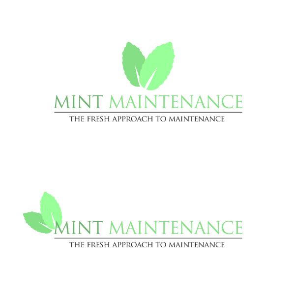 Logo Design by KoenU - Entry No. 151 in the Logo Design Contest Creative Logo Design for Mint Maintenance.