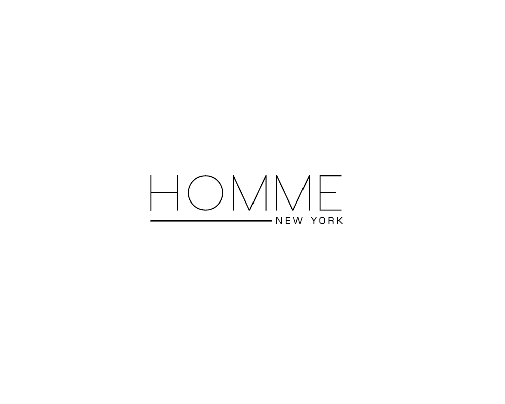 Logo Design by roc - Entry No. 105 in the Logo Design Contest Artistic Logo Design for HOMME | NEW YORK.