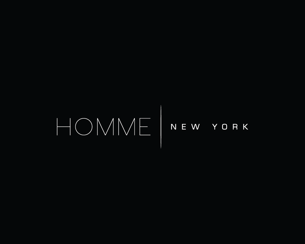 Logo Design by roc - Entry No. 108 in the Logo Design Contest Artistic Logo Design for HOMME | NEW YORK.