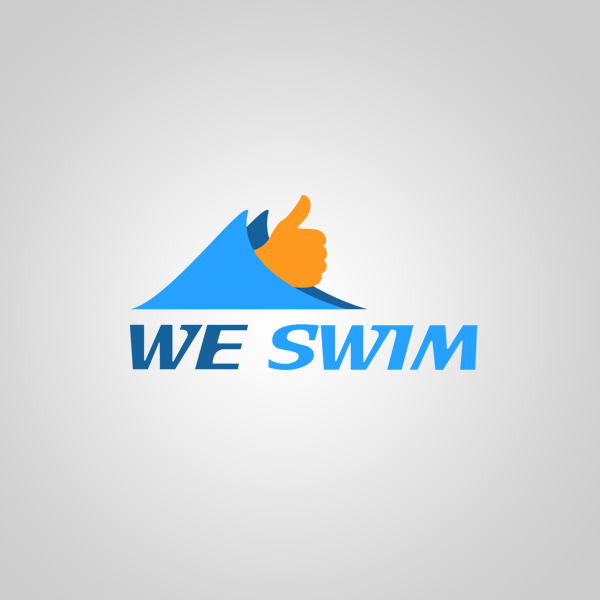 Logo Design by KoenU - Entry No. 25 in the Logo Design Contest Captivating Logo Design for We Swim.