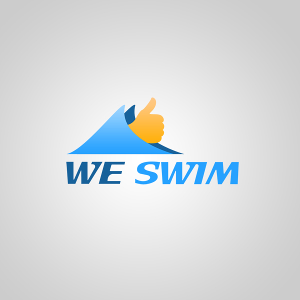 Logo Design by KoenU - Entry No. 26 in the Logo Design Contest Captivating Logo Design for We Swim.
