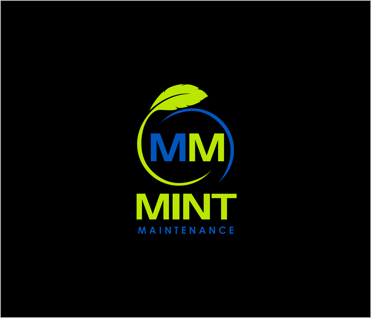 Logo Design by Armada Jamaluddin - Entry No. 160 in the Logo Design Contest Creative Logo Design for Mint Maintenance.